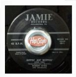 "45Re ✦ ROBERT BYRD ✦ ""Bippin' An' Boppin' / Strawberry Stomp"" Wild Black R'n'R"